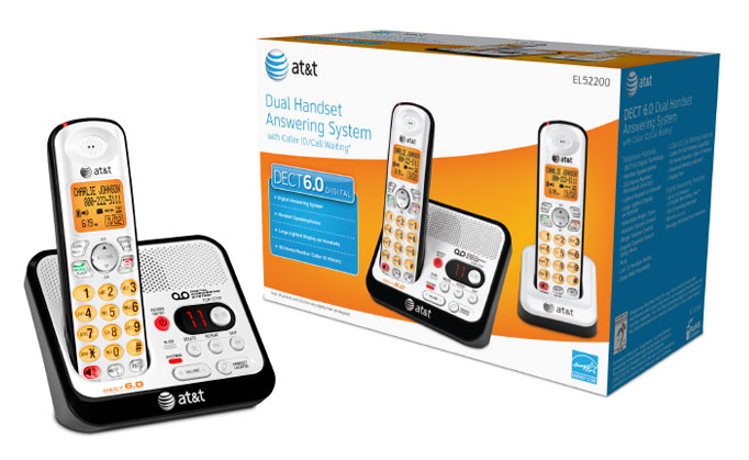AT&T telephone packaging